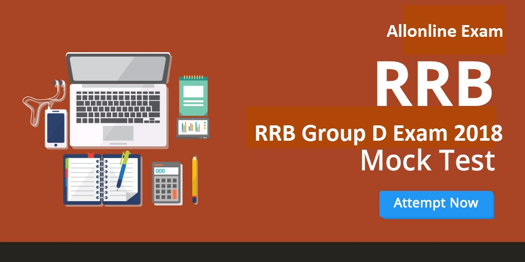 Mock Test for RRB Group D Exam Recruitment 2018