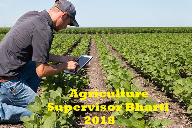 Agriculture Supervisor Bharti 2018