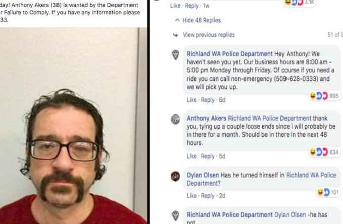 पुलिस ने फेसबुक पर वॉन्टेड का विज्ञापन दिया तो अपराधी बोला- 48 घंटे में पहुंच जाऊंगा