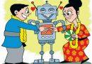 जापान में रब नहीं, रोबोट बनवा रहे जोड़ियां