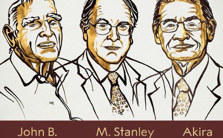 लीथियम आयन बैटरी के विकास के लिए 3 वैज्ञानिकों को रसायन का पुरस्कार, 97 साल के गुडइनफ सबसे उम्रदराज विजेता